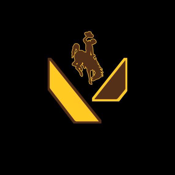 UWYO Valorant's logo