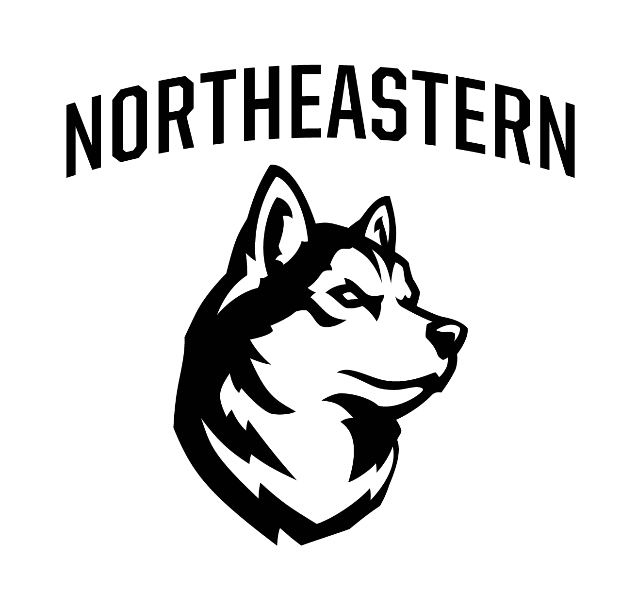 Northeastern B's logo