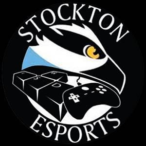 Stockton University Valorant A's logo