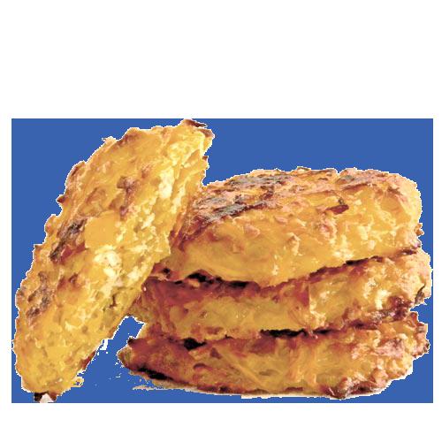 The Crispy Latkes's logo