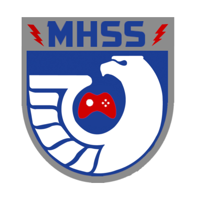 MHSS Eagles Esports V's logo