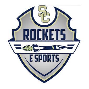 Shelby County Rockets Gold's logo