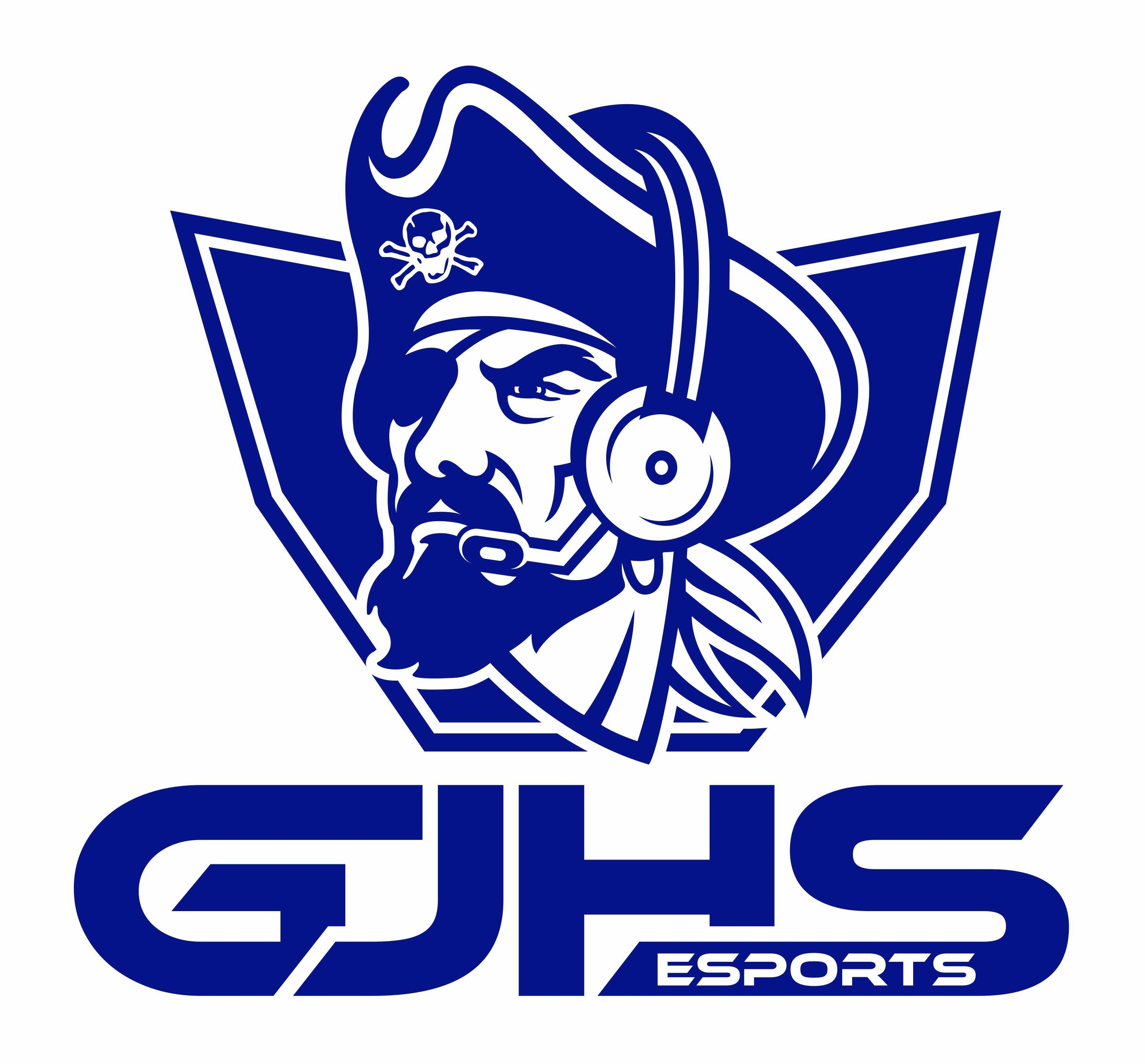 Greensburg Pirates Blue's logo