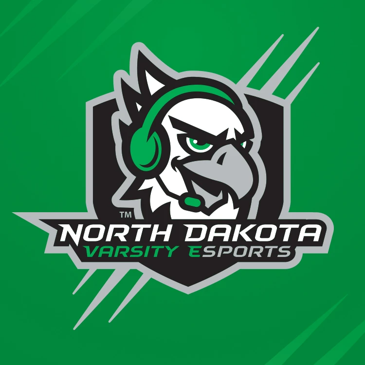University of North Dakota Green's logo