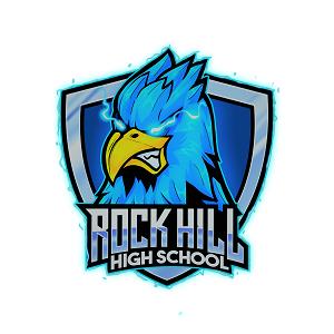 RHHS Supersonic Blue Hawks's logo