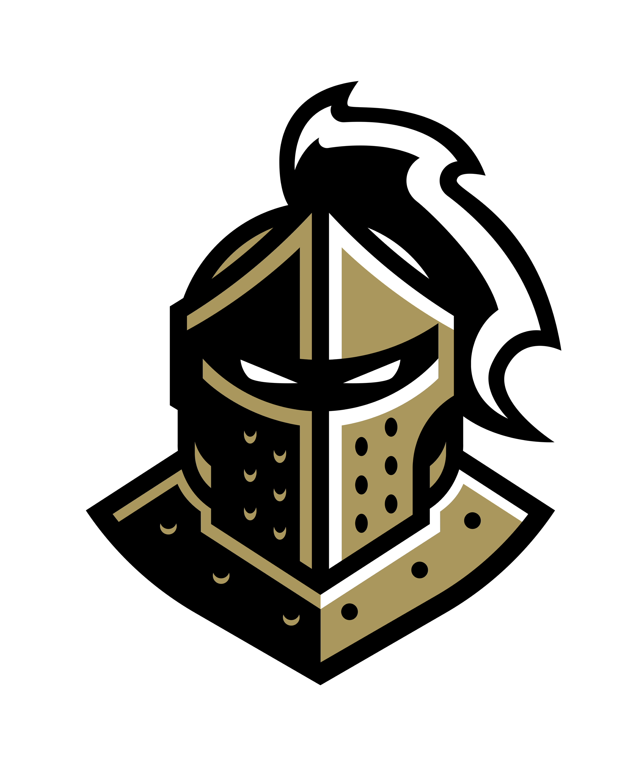 UCF Knights Black's logo
