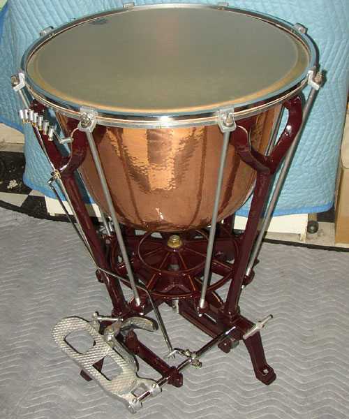 3 Ratchet Timpani