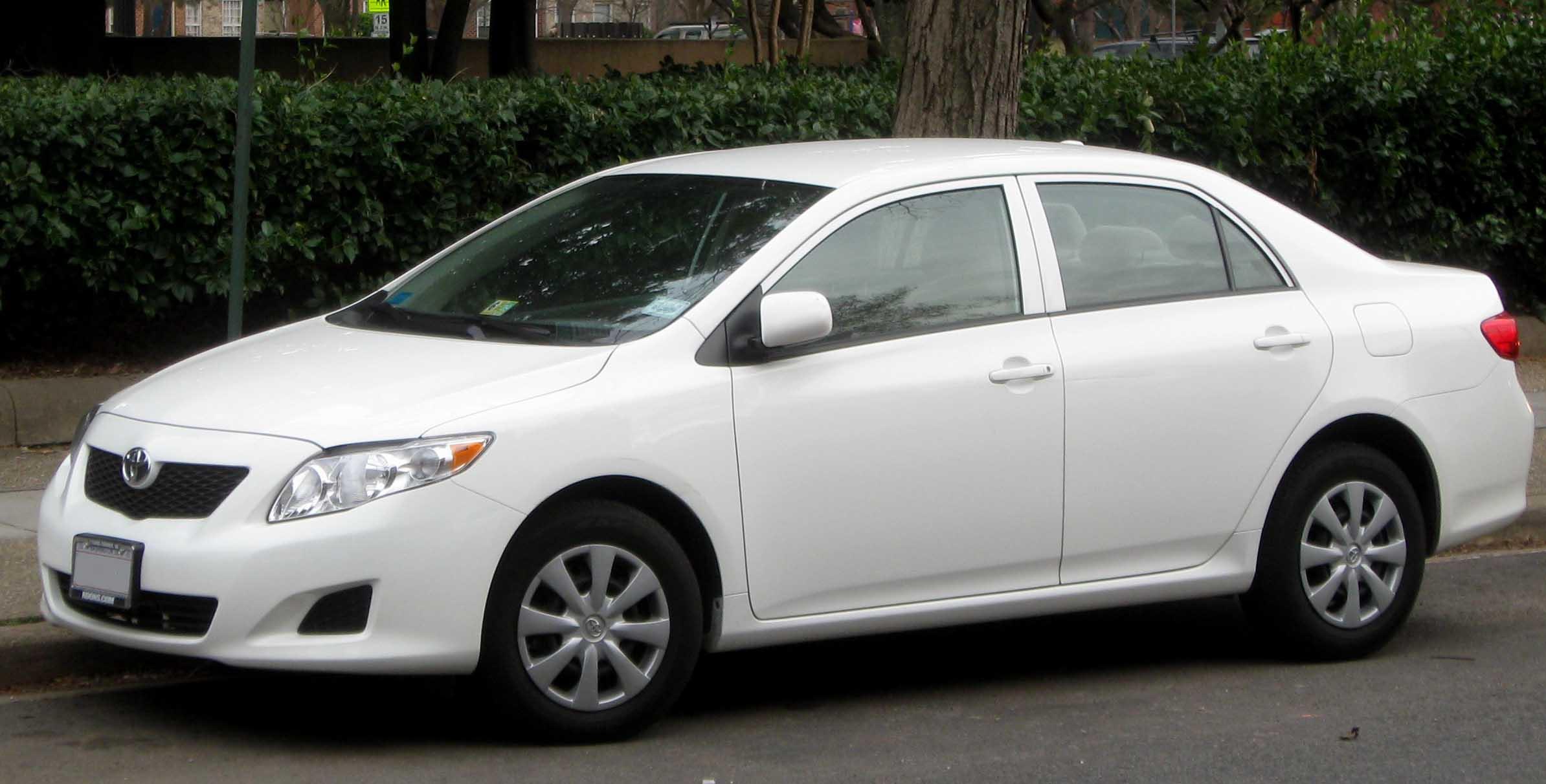 6 Toyota Corolla