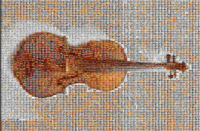 Violin Mosaic Full