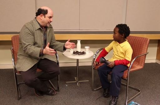 Seinfeld's Jason Alexander and OrchKid Aaron Sawyer discuss their pets over a snack!
