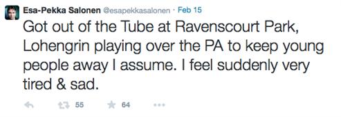 Esa Pekka Tweet