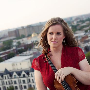 Madeline Adkins, leader and violin