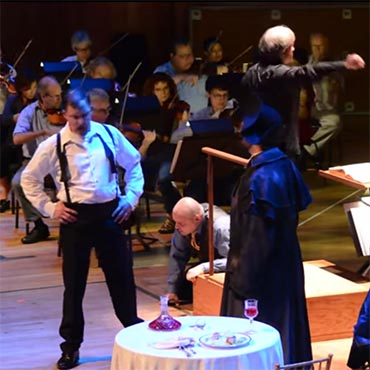 Don Giovanni Rehearsal