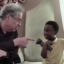 Snack Time with OrchKids, featuring Itzhak Perlman