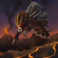Entei is on a rise