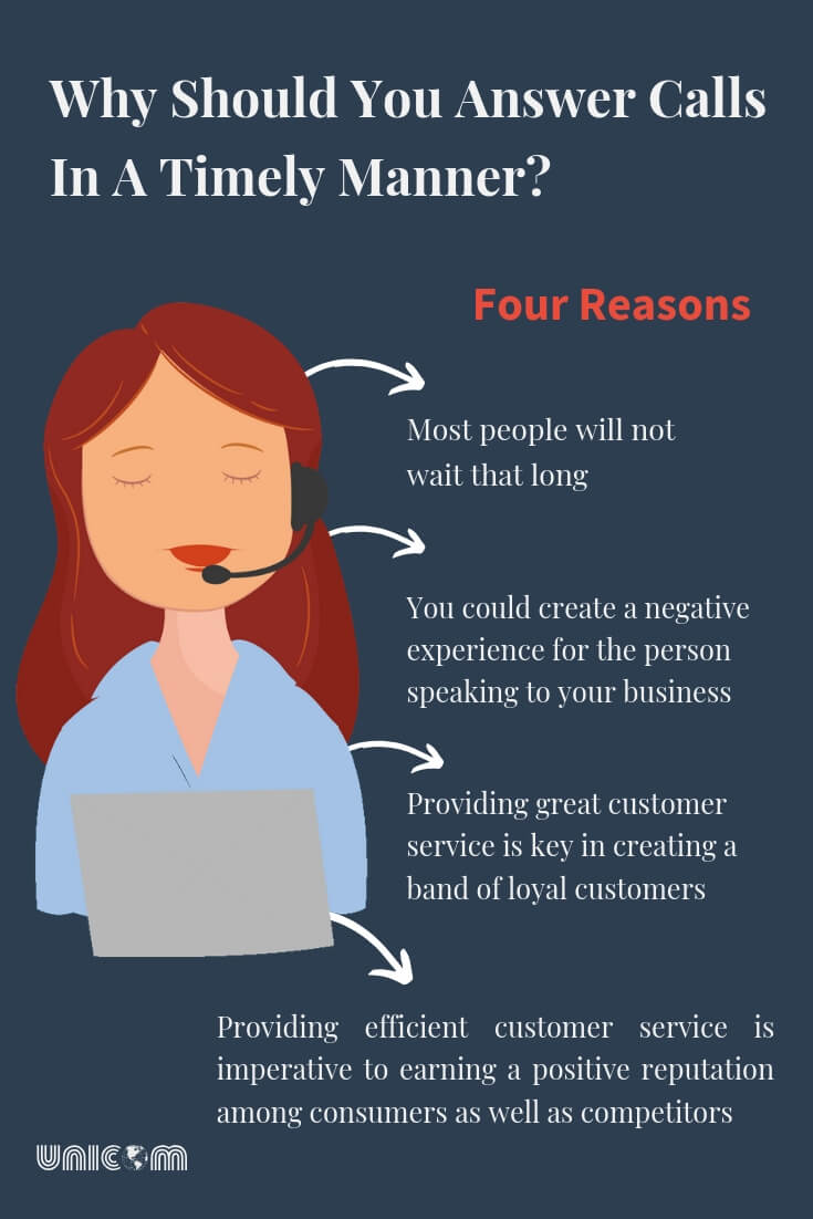 Four reasons to answer calls