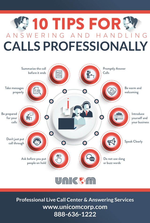 How to handle phone calls professionally