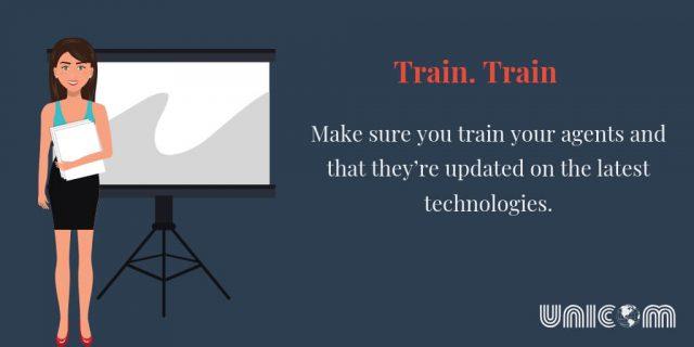 Train your help desk agents