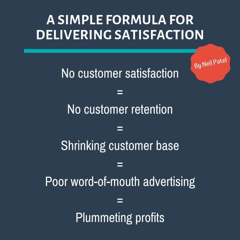 Formula for Delivering Satisfaction in Customer Service