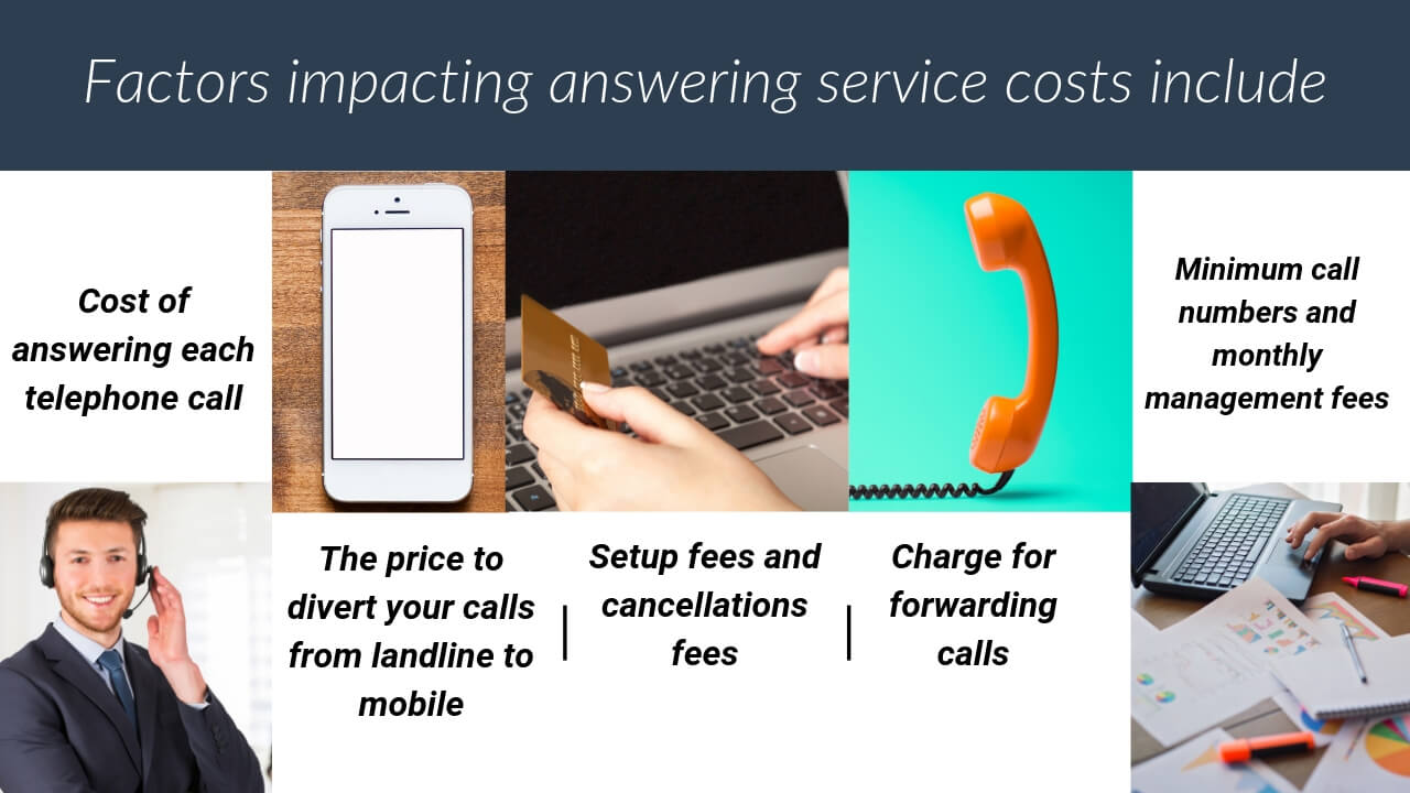Factors impacting answering service costs