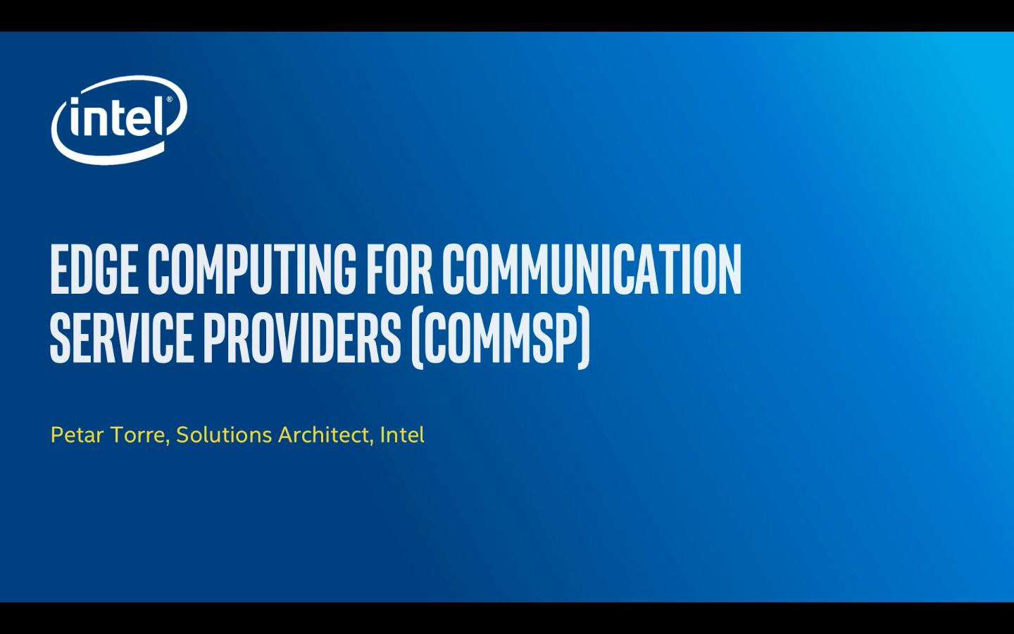 Chapter 1: Edge Computing for Communication  Service Providers