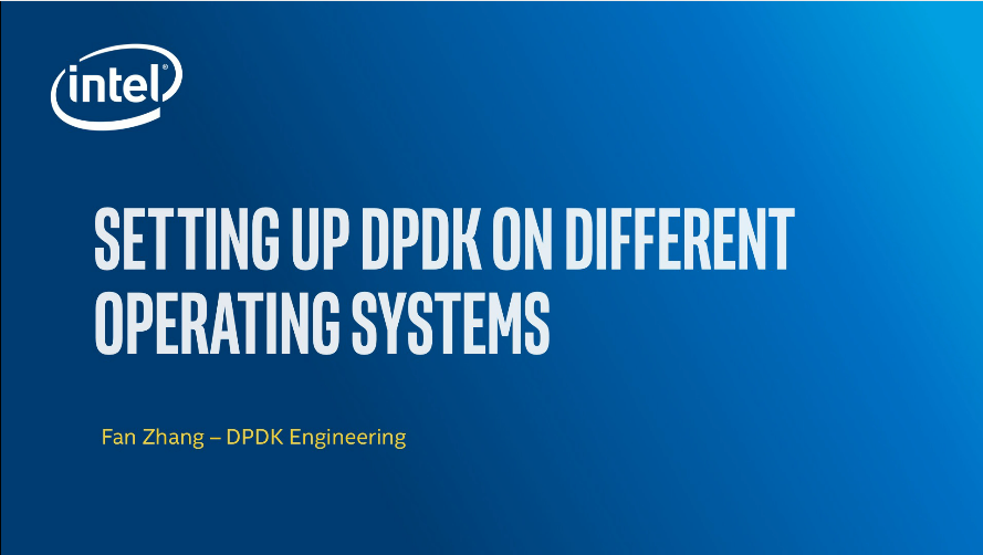 Chapter 1: Setting Up DPDK on Different Operating Systems