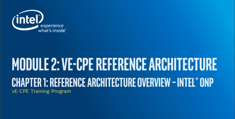 Chapter 1: Reference Architecture Overview - Intel® Open Network Platform (Intel® ONP)