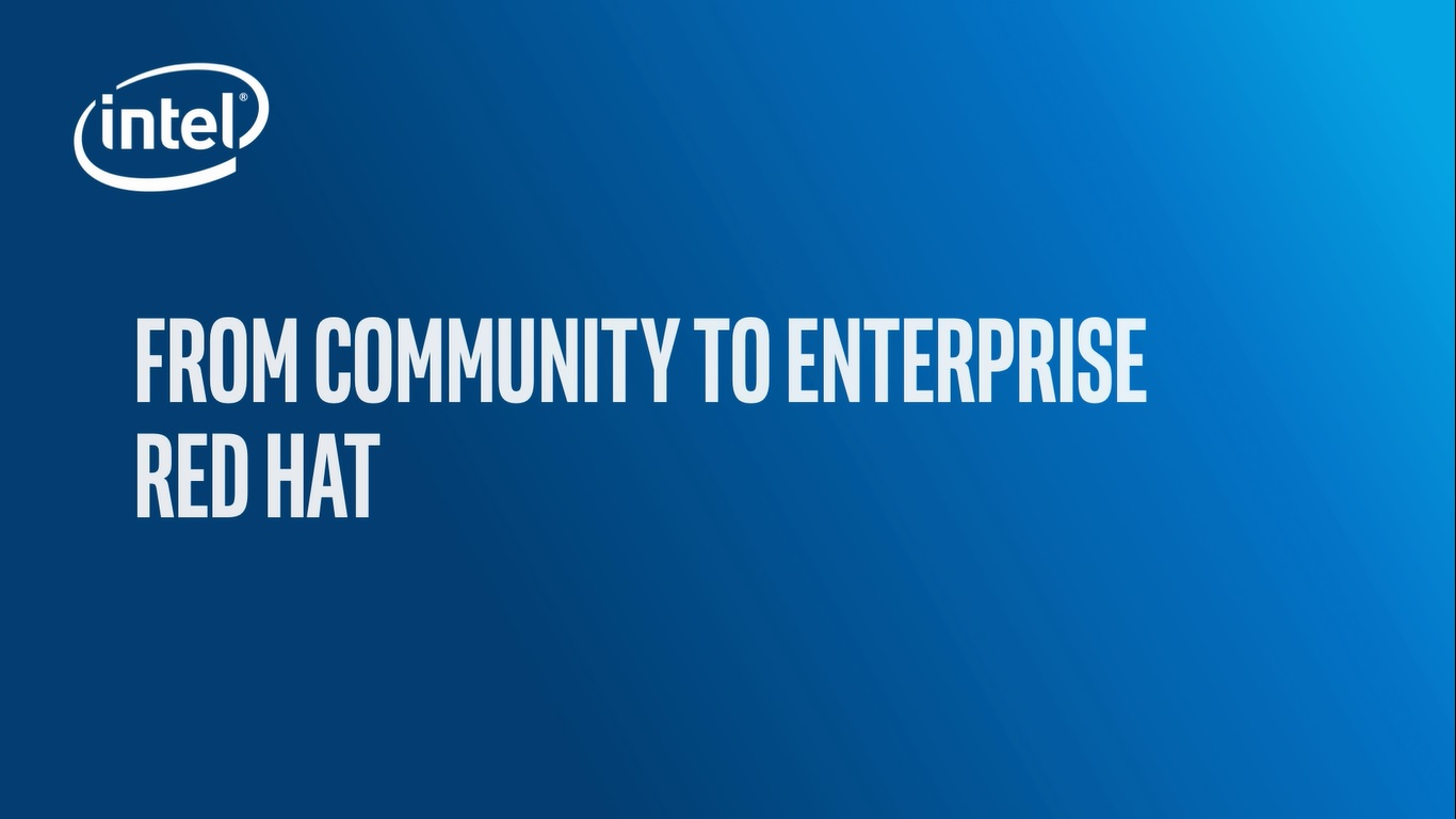 Chapter 1: From Community to Enterprise – Red Hat*