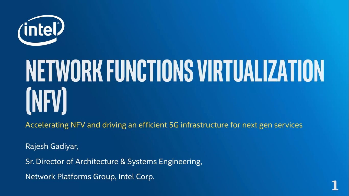 Chapter 1: Making Network Function Virtualization (NFV) a Reality