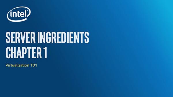 Chapter 1: Server Ingredients