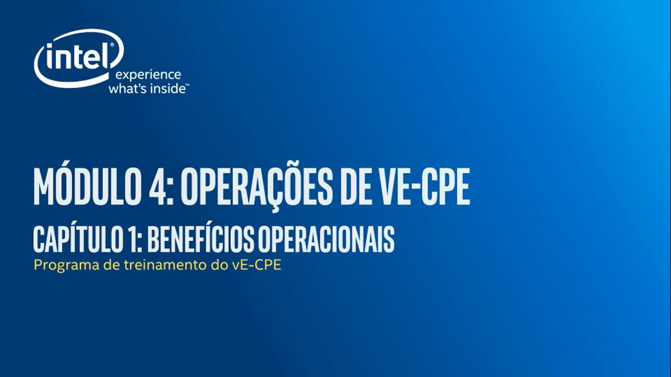 Chapter 1: Benefícios Operacionais