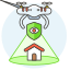 security-drone-icon