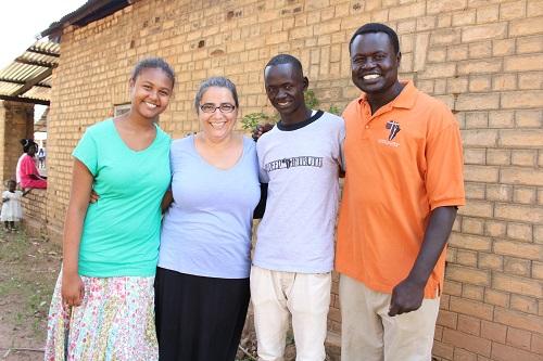 Hannah, Suzy, Emmanuel and Sabet