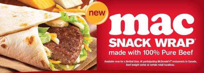 Mac Snack Wrap
