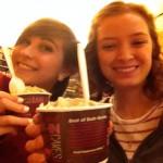 Pumpkin ice cream!!