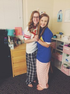 Chi O and Tri Delt -- living apart next year, unsure of what to do without each other