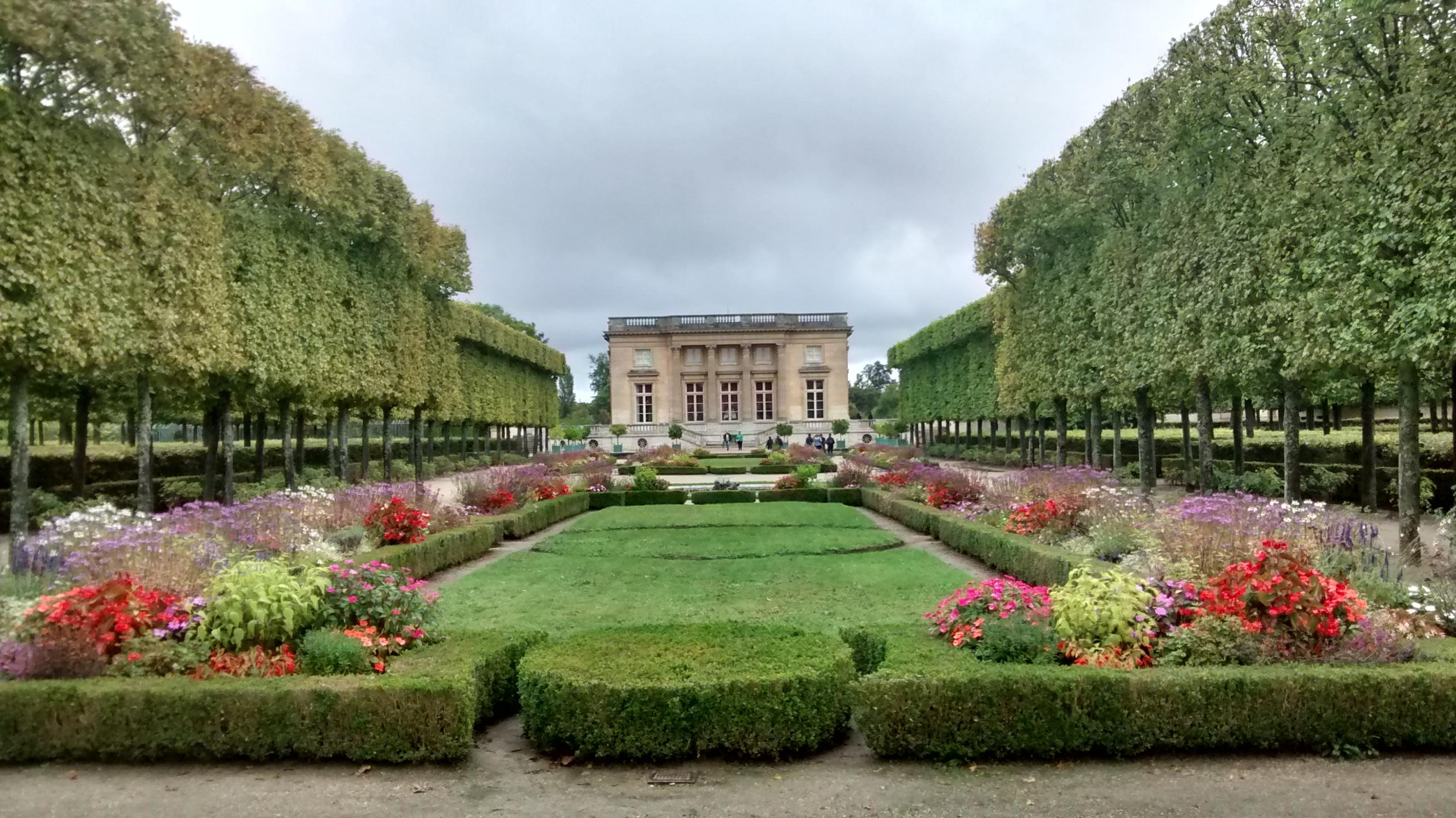 Le grand trianon frn 325 architecture fran aise for Jardin anglais du petit trianon