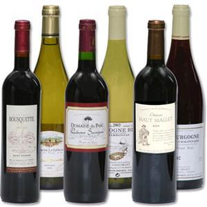 Quand on est entouree du bon vin...
