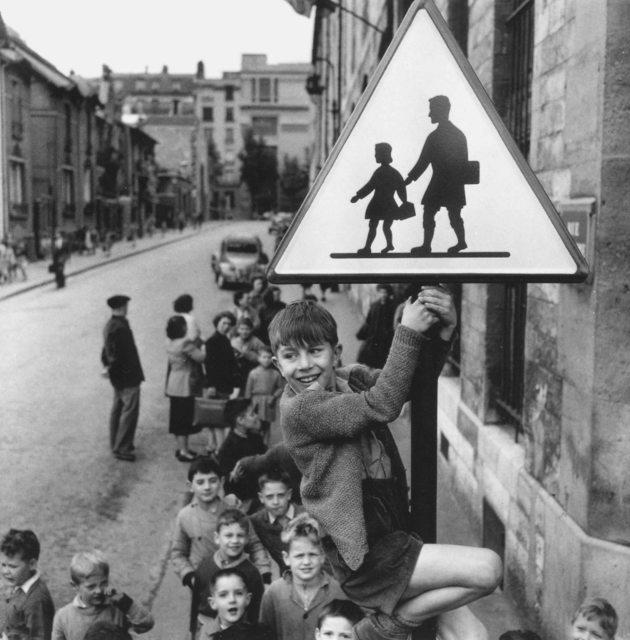 Robert Doisneau - La rentrée des classes