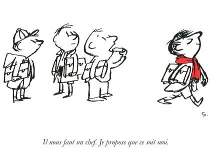 Geoffrey (portant l'écharpe rouge) : mon genre d'homme!