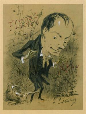 Baudelaire et ses fleurs du mal