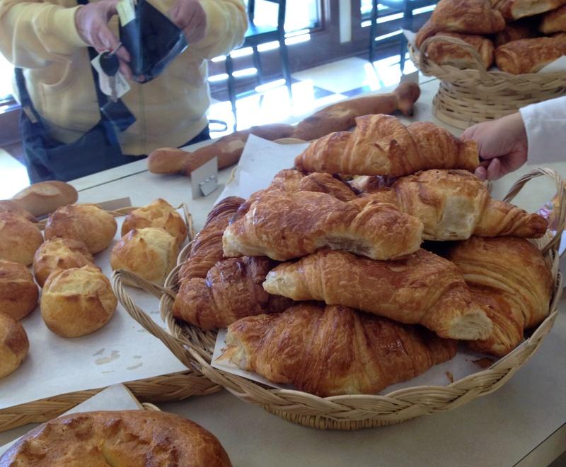 Croissants à Legrand Bakery