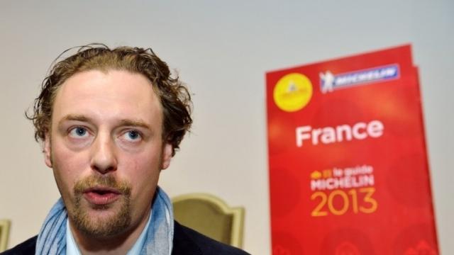 Arnaud Donckele est le nouveau chef 3 étoiles dans le Guide Michelin