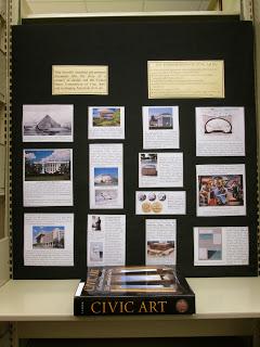 Civic art display