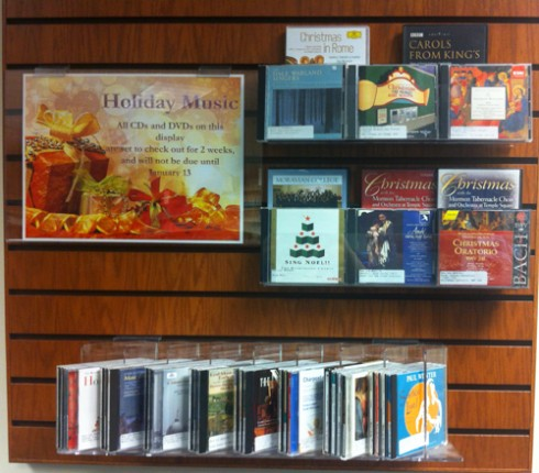 Holiday Music Display