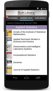 Browzine for Android