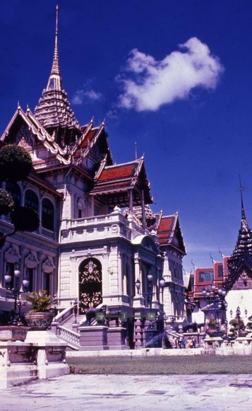 Chakri Palace, Bangkok, Thailand.
