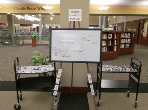 poetry creation station