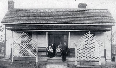 John Robert and Mary Earle Plyler home, Travelers Rest, 1893