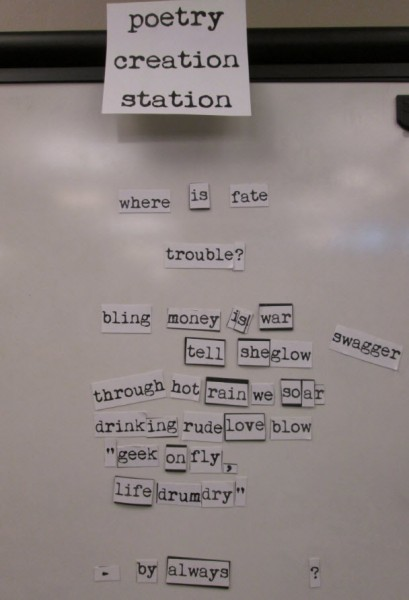 poetry creation station 6